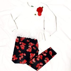 Sale** Floral Top and Pant Set